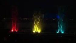 Musical Fountain Revolving Effect