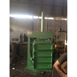 Single Box Single Cylinder Bailing Presses with Bale Eject