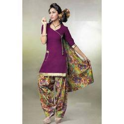 Patiala Designer Dress Material