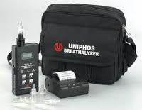 alcohol breath analyzer with printer