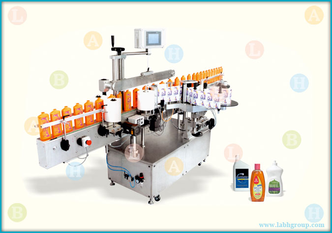 Automatic Side Sticker Labelling Equipment