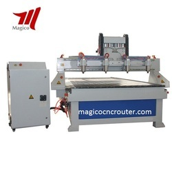 Four Heads CNC Engraving Machine