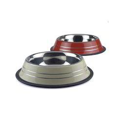 Coloured Anti Skid Bowl