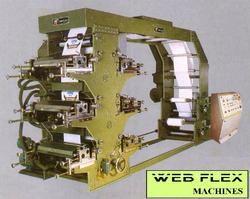 Flexographic Printing Machine For Printing