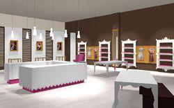Showroom interior designing in india for Showroom interior design