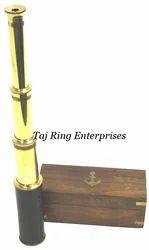 Brass Telescope With Boc