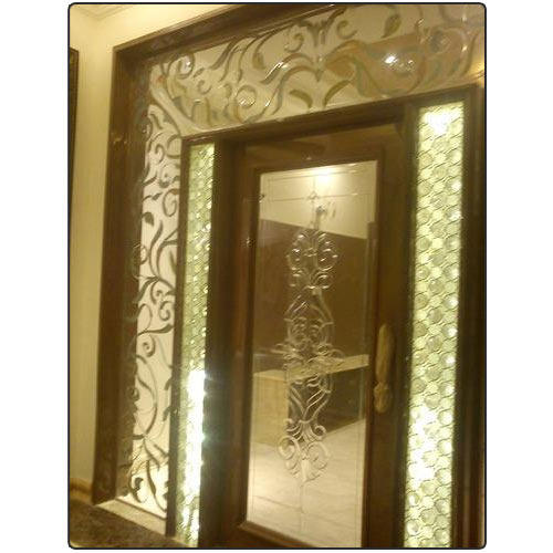 Glass partitions home glass partitions retailer from - Wooden glass partition design ...