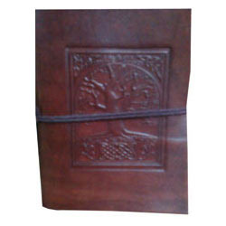 tree of life leather embossed journal