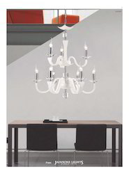 Leather Chandelier