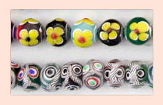 Glass Chinese Beads