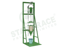 laboratory wet sieve analysis unit