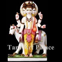 God Duttatreya With Cow