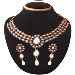 Bridal Wear Necklace Jewelry Set