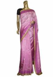 Indian Tussar Silk Saree