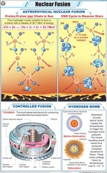 Nuclear Fusion For Physics Chart