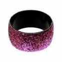 Aluminum Glitter Bangle