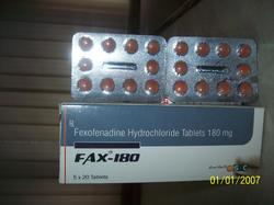 fax 180 tablets
