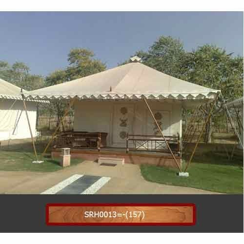 Designer Swiss Tent with Windows & Print Tent - Designer Swiss Tent with Windows Manufacturer from Jaipur