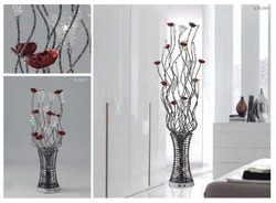 Diyas Table And Floor Lamp Rouge