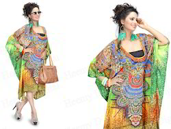 Digital Printed Wedding Kaftan