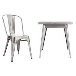 Steel Table Chair