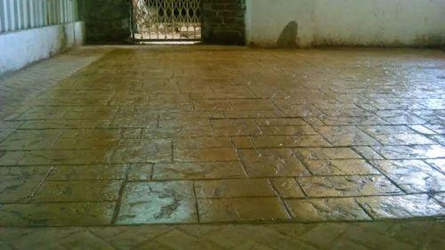 cement flooring stamped concrete flooring manufacturer from mumbai