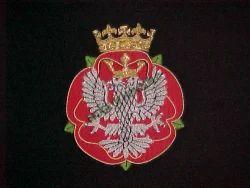 Royal Mercian & Lancastrian Yeomanry Blazer Badge