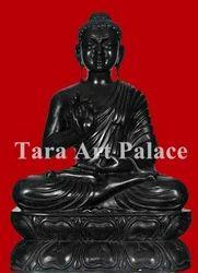 Buddha Black Marble Statue