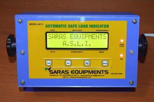 Hoist Load Indicator : Safe load indicators for hydraulic cranes automatic