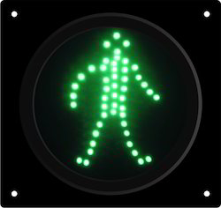 Pedestrian Green LED Traffic Signal
