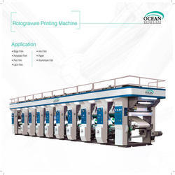 8 color rotogravure printing press machine
