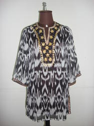 Cotton Printed Polyester Tunic