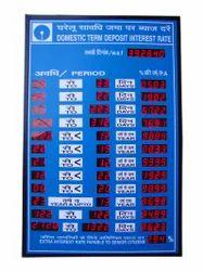 Electronic Display Board In Delhi Suppliers Dealers