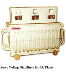 Servo Voltage Stabilizers for AC Plants