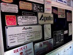 Aluminum Anodized Labels