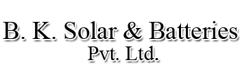 B. K. Solar & Batteries Pvt. Ltd.