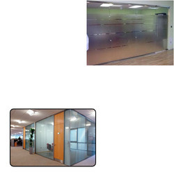 Glass Partition System for Corporate Office