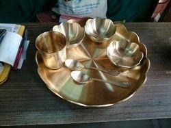 Kansa Kamal Thali Set Naxi Met