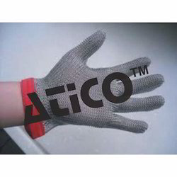 stainless steel glove x small