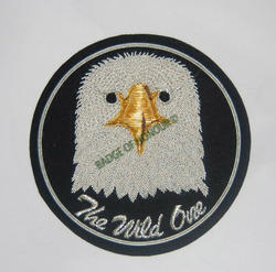 The Wild One-Embroidered Badge