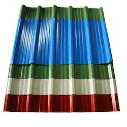Galvenised Color Coated Sheet