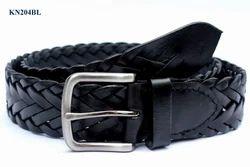 Black Fashionable Belts