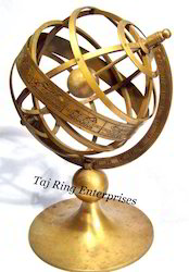 Antique Brass Armillary