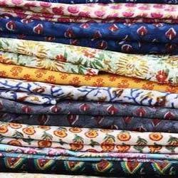 Indian Traditional Block Printed Textile Fabric