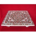 Exclusive Gold Plated Chowki with Stone Work