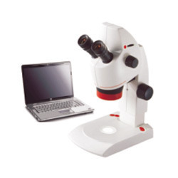 Stereo Zoom Microscope with USB Camera Measuring Software &