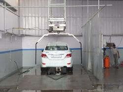 Robotic Automatic Car Wash