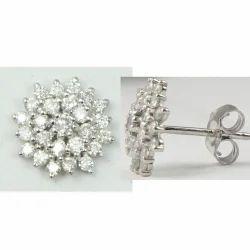 White Gold Diamond Tops