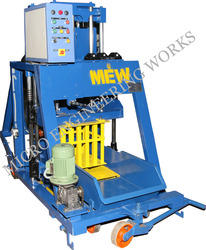 Hydraulic Operated Concrete Block Making Machine