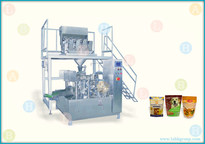 Automatic Horizontal Pick Fill and Seal Pouch Packaging Machine for Solid Products